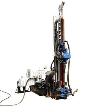 Full hydraulic reverse circulation diamond core drilling rig